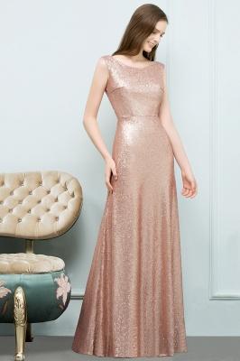 A-line Sequined Scoop Sleeveless Floor-Length Bridesmaid Dress_3