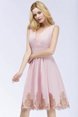 ROSEANNE   A-line V-neck Knee Length Sleeveless Appliques Homecoming Dresses_8