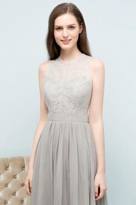 A-line Sleeveless Long Lace Top Chiffon Bridesmaid Dresses_7