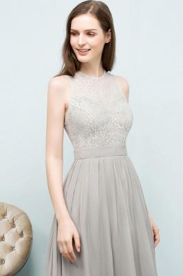A-line Sleeveless Long Lace Top Chiffon Bridesmaid Dresses_8