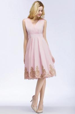 ROSEANNE   A-line V-neck Knee Length Sleeveless Appliques Homecoming Dresses_9