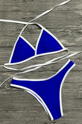 Multi-color Swimwear Sexy Bikini Set_5