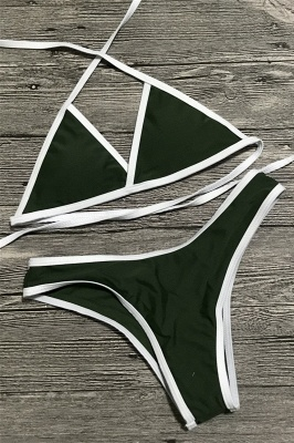 Multi-color Swimwear Sexy Bikini Set_7