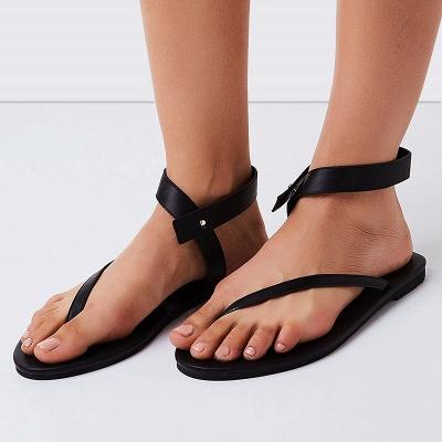 Sandals Flip Flops Ankle Wrap Shoes_7