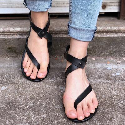 Sandals Flip Flops Ankle Wrap Shoes_10