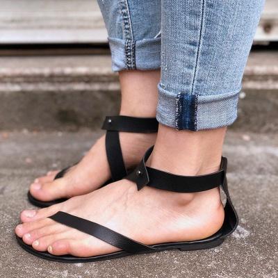 Sandals Flip Flops Ankle Wrap Shoes_9