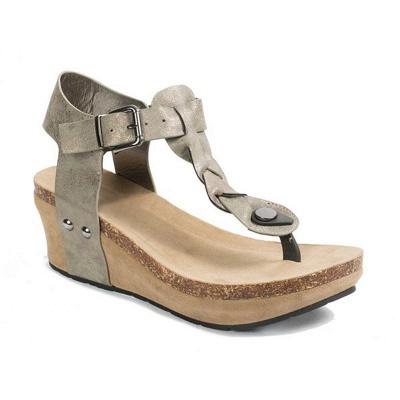 Summer Daily PU Braided Strap Sandal_15