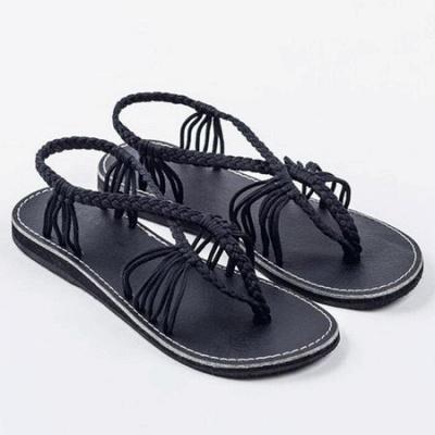 Summer Braided Daily Flip-flops Sandals_13