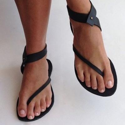 Sandals Flip Flops Ankle Wrap Shoes_11