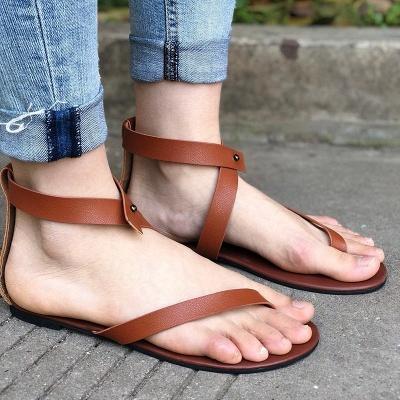 Sandals Flip Flops Ankle Wrap Shoes_20