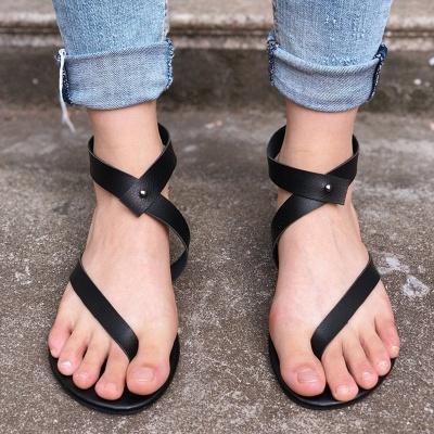 Sandals Flip Flops Ankle Wrap Shoes_12