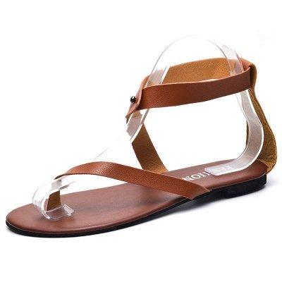 Sandals Flip Flops Ankle Wrap Shoes_23