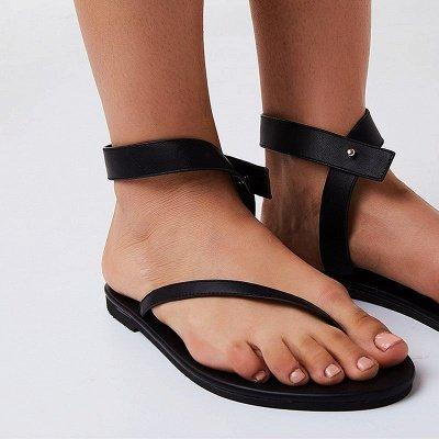 Sandals Flip Flops Ankle Wrap Shoes_5