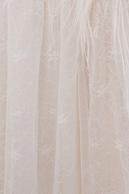 NANCY | Affordable Sleeveless Floor Length Lace Ivory Wedding Dresses_12