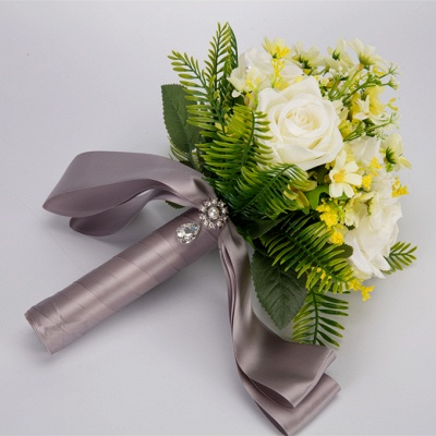 Multiple Artificial Flowers Bouquet for Wedding_9