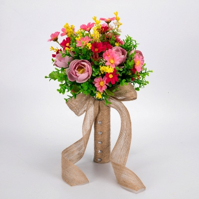 Multiple Artificial Flowers Bouquet for Wedding_1