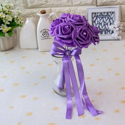 Small Bouquet in Multiple Colors with Robbin_15