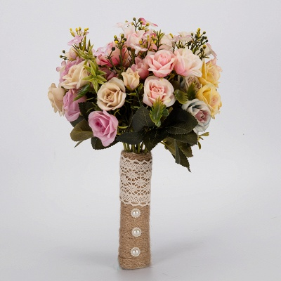 Multiple Artificial Flowers Bouquet for Wedding_6