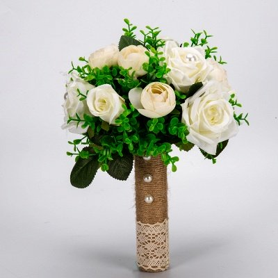 Multiple Artificial Flowers Bouquet for Wedding_7