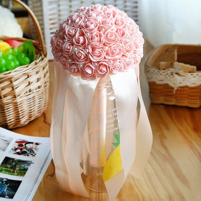 Multiple Colors Beading Bouquet for Wedding_4