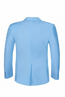 Custom Made Pool Shawl Lapel Two Button Single Breasted Wedding Suits_4
