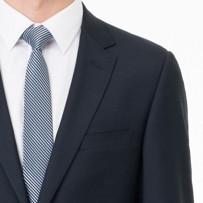 Comfortable Two Button Peak Lapel Two Pieces with Pants Slim Fit_5