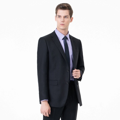 High Quality Two-piece Suit Single Breasted Wedding Suits_2