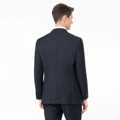 Comfortable Two Button Peak Lapel Two Pieces with Pants Slim Fit_2