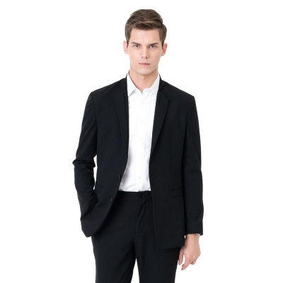 Two-piece Suit Peak Lapel Single Breasted Casual Suits_4