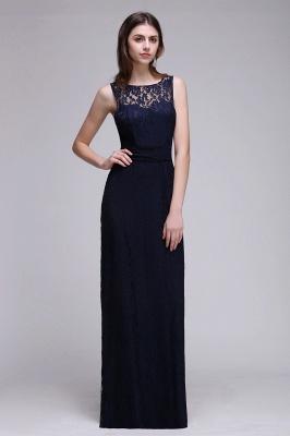 Elegant A-Line Lace Scoop Sleeveless Hollow-Back Floor-Length Bridesmaid Dress_1
