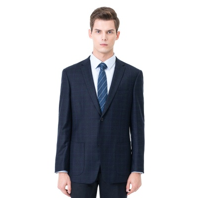 Two-piece Suit Two Button Single Breasted Peak Lapel Fashion Groomsmen_1