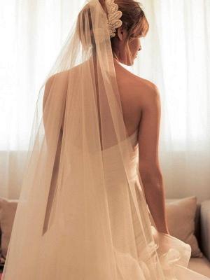 Beaded Organza Puffy Wedding Dresses   Sweep Train Sweetheart Sleeveless Bridal Gowns_4