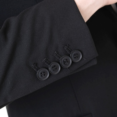 Two-piece Suit Peak Lapel Single Breasted Casual Suits_5