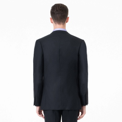 High Quality Two-piece Suit Single Breasted Wedding Suits_5