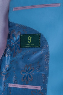 Custom Made Pool Shawl Lapel Two Button Single Breasted Wedding Suits_6
