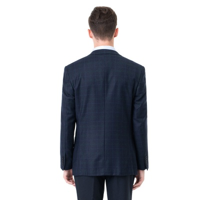 Two-piece Suit Two Button Single Breasted Peak Lapel Fashion Groomsmen_2