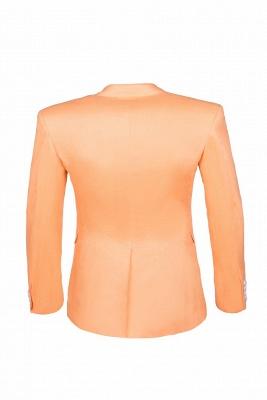 Stylish Design Rose Golden Single Breasted Peak Lapel Wedding Prom Suits_3