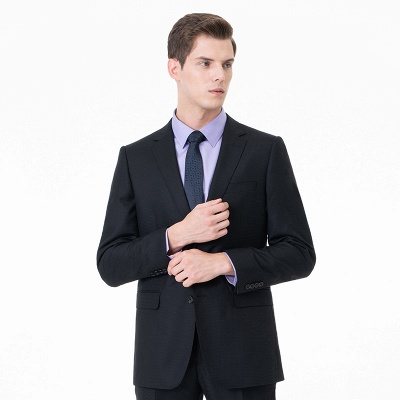 High Quality Two-piece Suit Single Breasted Wedding Suits_1