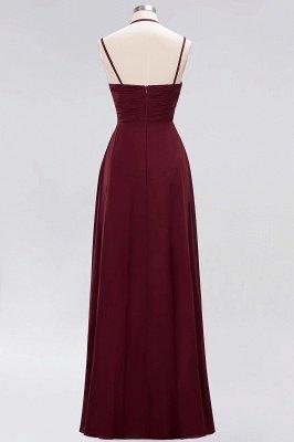 A-line  Spaghetti Straps Sleeveless Ruffles Floor-Length Bridesmaid Dresses_28