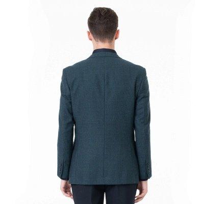 Customize Lattice Two-piece Suit Peak Lapel Single Breasted Career Suits_2