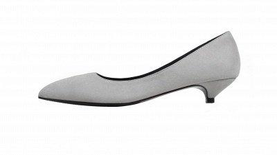 Woman Pointed Toe Kitten Heel Wedding Shoes_9