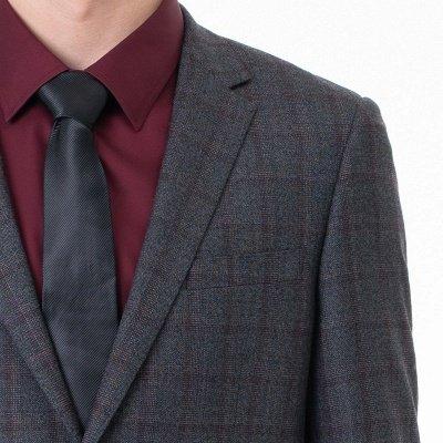 Career Suits Two Button Single Breasted Lattice Peak Lapel_4
