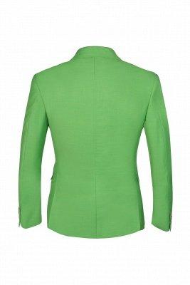 Popular Stylish Design Jade Single Breasted Back Vent Peak Lapel_3