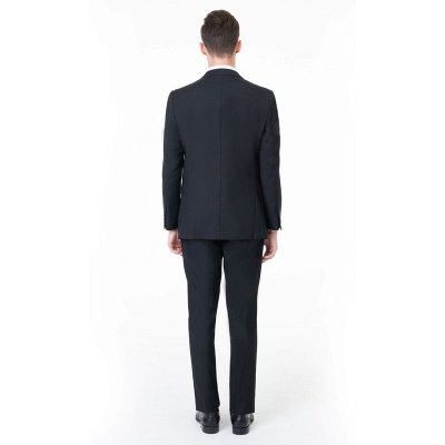 High Quality Peak Lapel Single Breasted Two Pieces with Pants_2