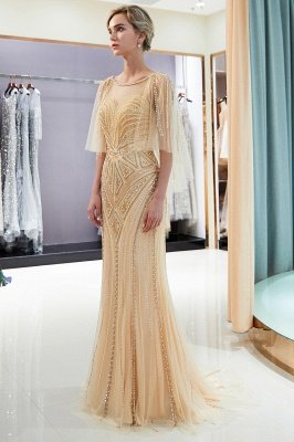 Sexy Mermaid  Sequins Beading Sweetheart Prom Dress   2019 Evening Dresses_1