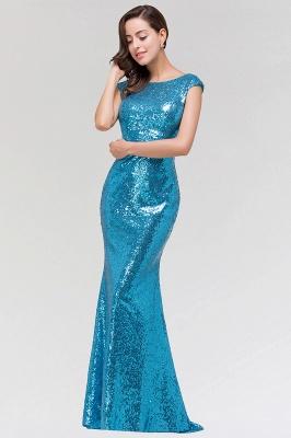 Mermaid Sequined Scoop Sleeveless Floor-Length Bridesmaid Dress_3