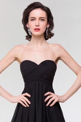 A-line  Strapless Sweetheart Sleeveless Floor-Length Bridesmaid Dress with Ruffles_5