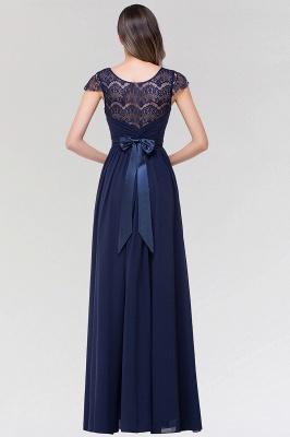 Elegant A-Line  Lace Scoop Sleeveless Ruffles Floor-Length Bridesmaid Dress with beadworks_2
