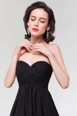 A-line  Strapless Sweetheart Sleeveless Floor-Length Bridesmaid Dress with Ruffles_6