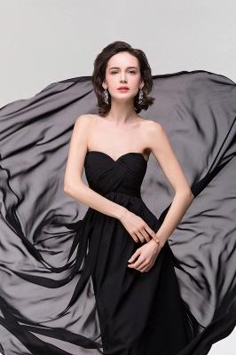 A-line  Strapless Sweetheart Sleeveless Floor-Length Bridesmaid Dress with Ruffles_4